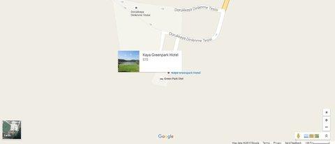 Kaya Green Park Otel - Location map