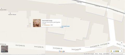 hich hotel konya - Location map