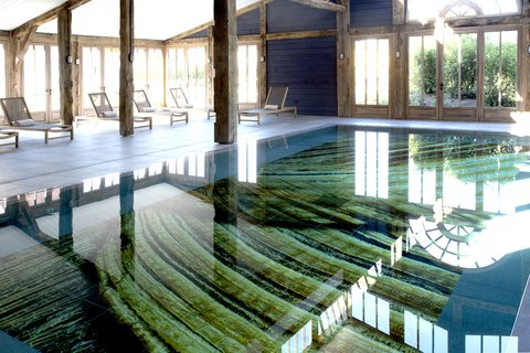 Les Sources De Caudalie Hotel - Indoor Pool
