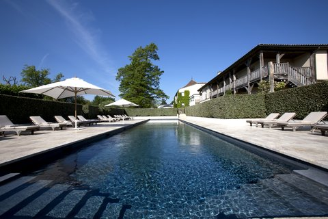 Les Sources De Caudalie Hotel - Outdoor Pool RCellier
