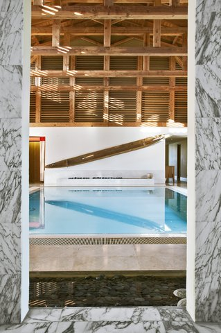 Les Sources De Caudalie Hotel - Spa indoor Pool
