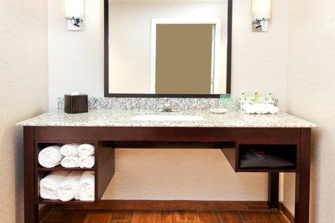 Holiday Inn Express & Suites HUNTSVILLE WEST - RESEARCH PK - Standard Guest Bathroom