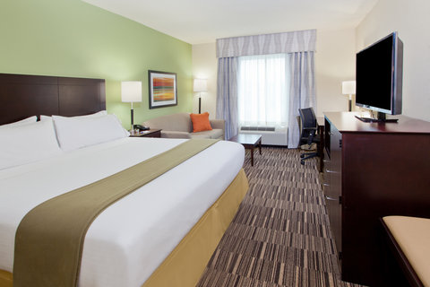 Holiday Inn Express & Suites HUNTSVILLE WEST - RESEARCH PK - King Bed Guest Room with sofa bed