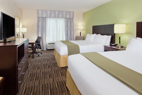 Holiday Inn Express & Suites HUNTSVILLE WEST - RESEARCH PK - Two Queen Bed Guest Room