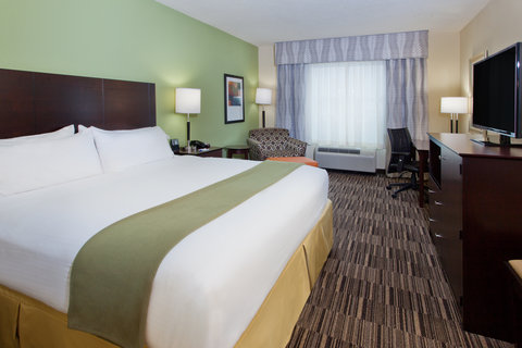 Holiday Inn Express & Suites HUNTSVILLE WEST - RESEARCH PK - King Executive Guest Room
