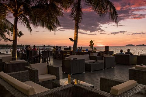 The Magellan Sutera - Al Fresco Sunset Bar at The Magellan Sutera Harbour Resort