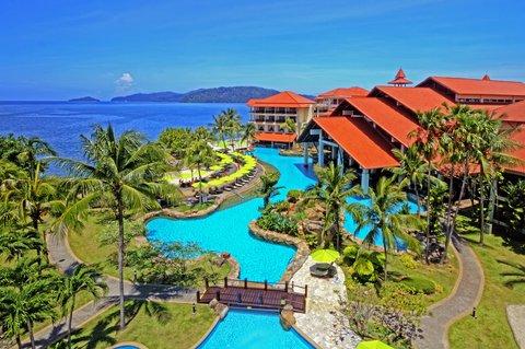 The Magellan Sutera - Aerial View at The Magellan Sutera Harbour Resort