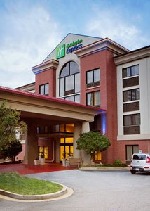 Exterior view - Holiday Inn Express Hotel & Suites Downtown Greenville