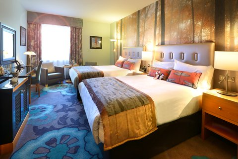 Crowne Plaza DUBLIN - NORTHWOOD - Luxurious room with two double-sized beds