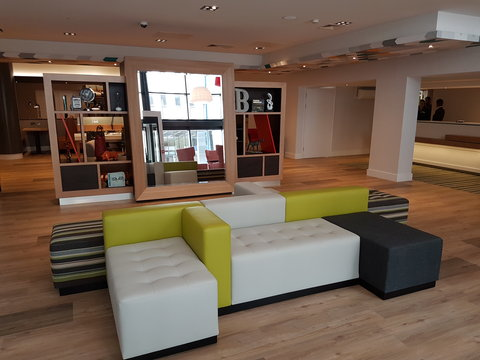 Holiday Inn BIRMINGHAM CITY CENTRE - New Open Lobby for 2016 at the Holiday Inn Birmingham City Centre