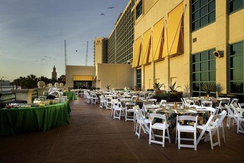 Hilton Daytona BeachResort-Ocean Walk Village - Outdoor Event Space