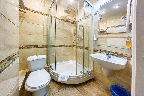 Avrora Hotel Khabarovsk - Bathroom in Standard 2 Rooms