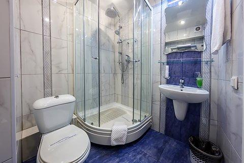 Avrora Hotel Khabarovsk - Bathroom in Standard Room