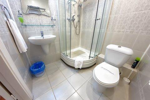 Avrora Hotel Khabarovsk - Bathroom in Superior Room