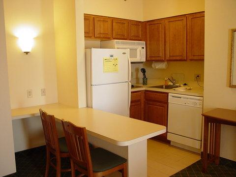 Staybridge Suites AURORA/NAPERVILLE - One Bedroom Suite- Kitchen Area