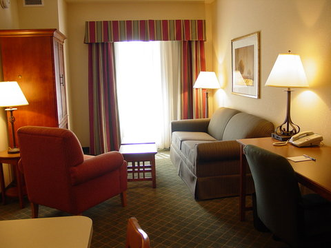 Staybridge Suites AURORA/NAPERVILLE - One Bedroom Suite Living Area