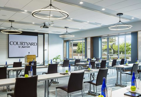 Courtyard By Marriott Burlington Harbor Hotel - Harbor Room - Meeting Setting