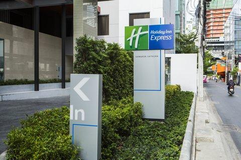 Holiday Inn Express Bangkok Sathorn - Holiday Inn Expres Bangkok Sathorn - Entrance