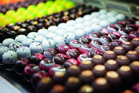 The Ritz-Carlton, Charlotte - Chocolate Display At Bar Cocoa