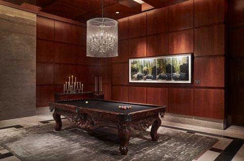 The Ritz-Carlton, Charlotte - The Ritz Carlton Charlotte Pool Table