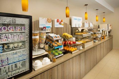 Holiday Inn Express & Suites DFW-GRAPEVINE - Breakfast Bar