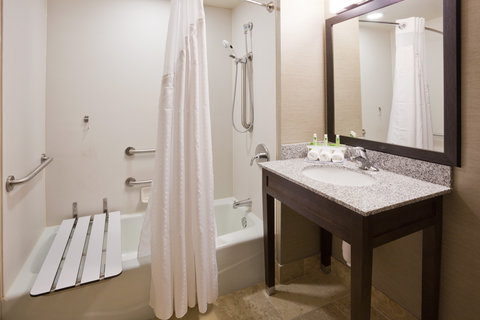 Holiday Inn Express & Suites WILLMAR - Accessible facilities are available in several of our guest rooms