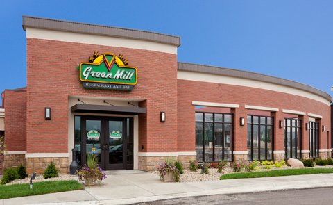 Holiday Inn Express & Suites WILLMAR - Green Mill is attached to the hotel  dine in or order room service