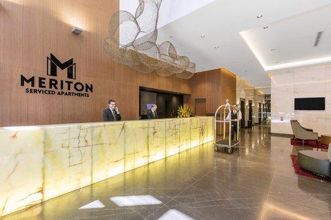 Meriton Serviced Apartments Herschel Street - Herschel Street Lobby