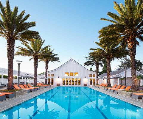 The Carneros Inn Preferred Hotels and Resorts - Ottos Pool
