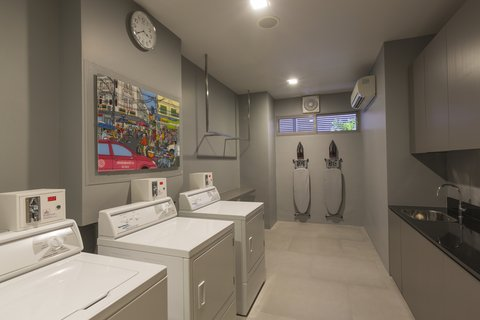 Holiday Inn Express Bangkok Sathorn - Self Service Laundry Room at Holiday Inn Express Bangkok Sathorn