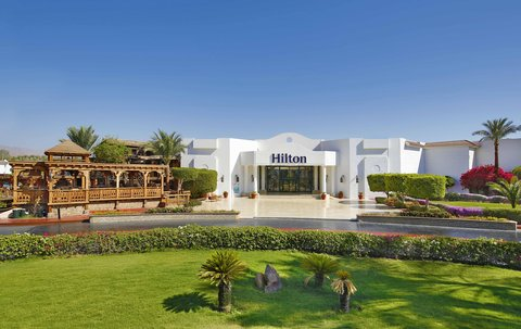 Hilton Sharm Dreams Resort - Hotel Enterance