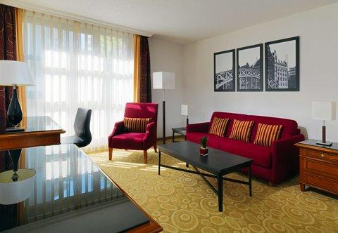 فندق ماريوت هامبورغ - Executive Studio Guest Room - Living Area