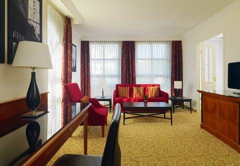 فندق ماريوت هامبورغ - Junior Suite - Living Area
