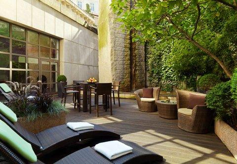 فندق ماريوت هامبورغ - Spa Terrace
