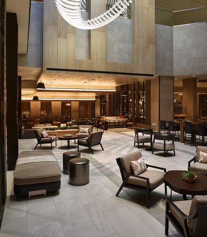 Marriott Charlotte City Center Hotel - Marriott Greatroom