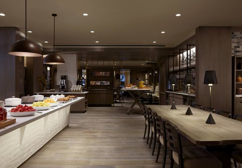 Marriott Charlotte City Center Hotel - M Club Lounge - Food Offerings