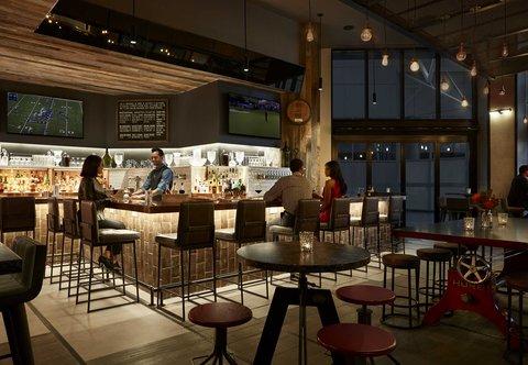 Marriott Charlotte City Center Hotel - Stoke Bar
