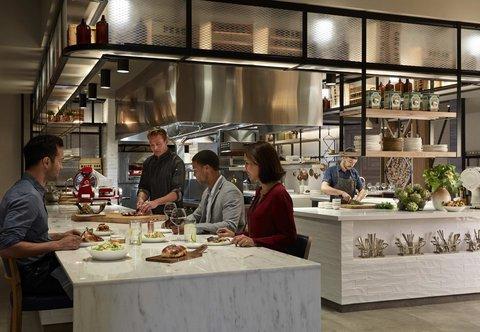 Marriott Charlotte City Center Hotel - Stoke - Immersive Kitchen Experience