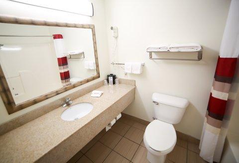 Holiday Inn Express EVANSVILLE-NORTH(I-64 & US 41) - Bathroom
