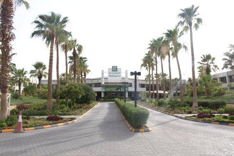 فندق هوليدي ان ازدهار - Exterior Feature