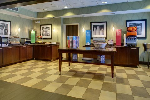 Hampton Inn Greenville-Woodruff Road - Breakfast Area