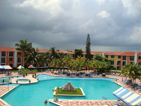 Secrets Aura Cozumel - All Inclusive - Pool View From Master Suite Terrace
