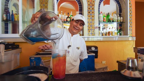 Secrets Aura Cozumel - All Inclusive - Hotel Cozumel And Resort Bartender