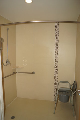 Crowne Plaza TUXPAN - Wheelchair accessible bathroom