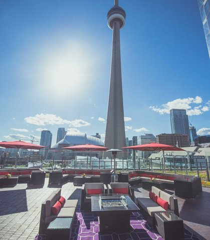 Delta Toronto - The Roof at SOCO - Outdoor Terrace