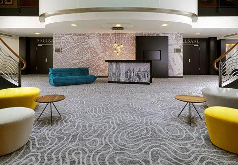 Cologne Marriott Hotel - Foyer 2D
