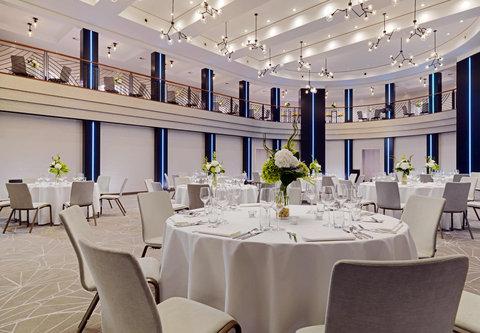Cologne Marriott Hotel - Forum 1 Conference Room   Banquet Setup
