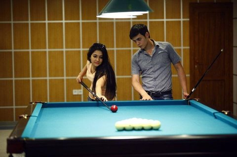 Modern Hotel - Modern Hotel pool table