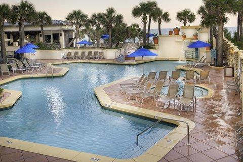 Hilton Daytona BeachResort-Ocean Walk Village - Outdoor Pool