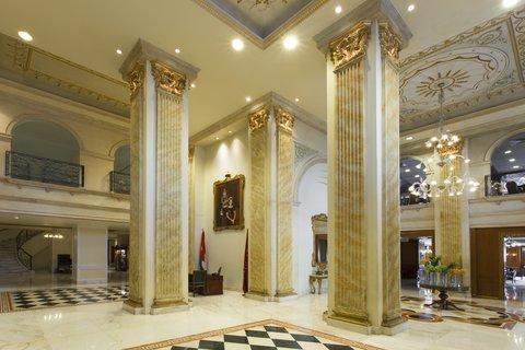 ريجنسي بالاس عمان - Lobby Area at Regency Palace Amman